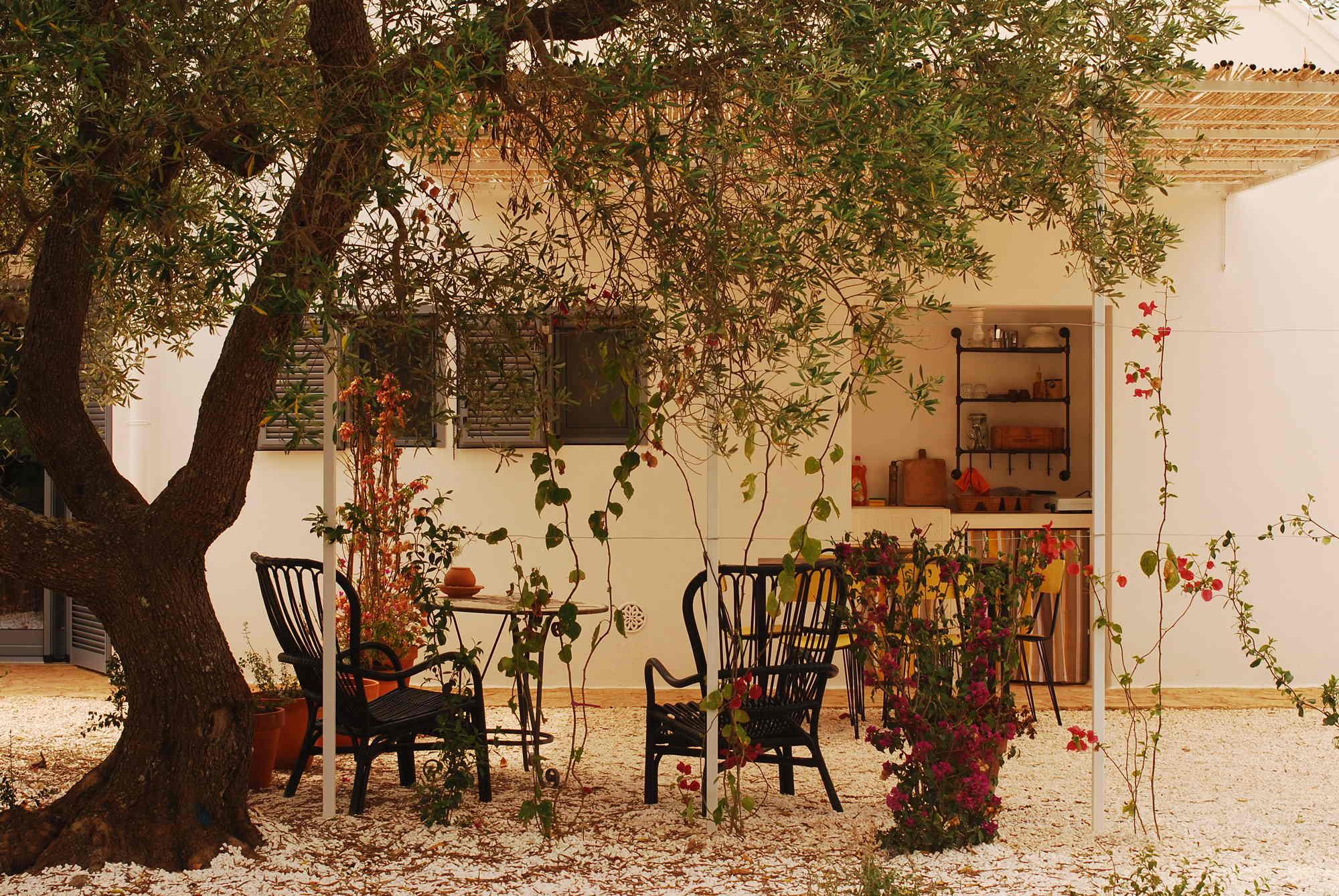 Vista patio esterno